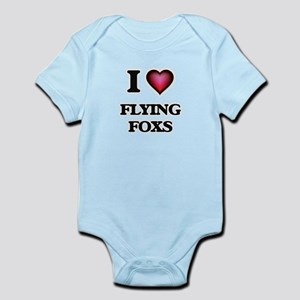 I Love Flying Foxs Body Suit