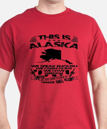 This Is Alaska Black & White T-Shirt