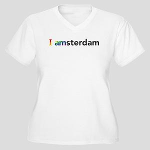 I Pride Amsterdam Plus Size T-Shirt