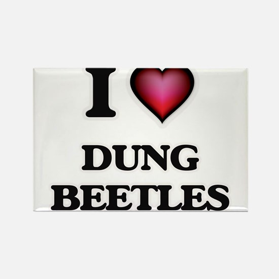 I Love Dung Beetles Magnets