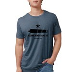 Texas Come and Take It Mens Tri-blend T-Shirt