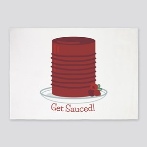 Get Sauced 5'x7'Area Rug