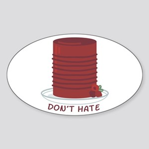 Dont Hate Cranberries Sticker