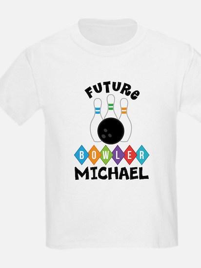 Personalized Kids Bowling T-Shirt