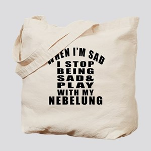 Play With Nebelung Cat Tote Bag