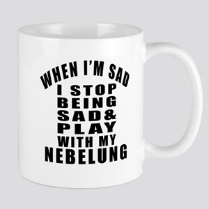 Play With Nebelung Cat Mug