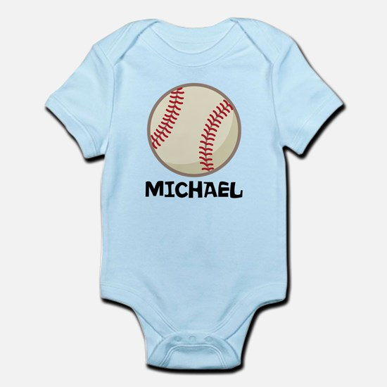 Personalized Baseball Sports Body Suit