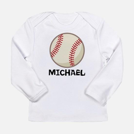 Personalized Baseball Sports Long Sleeve T-Shirt