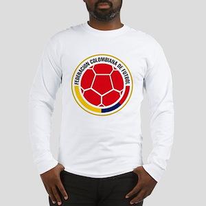 Futbol de Colombia Long Sleeve T-Shirt