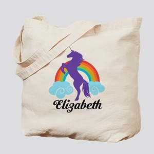 Personalized Unicorn Gift Tote Bag