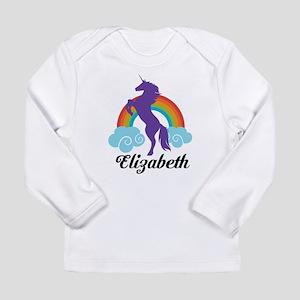 Personalized Unicorn Gift Long Sleeve T-Shirt