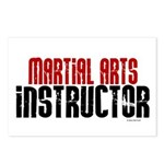 Martial Arts Instructor 2 Postcards (Package of 8)