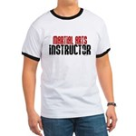 Martial Arts Instructor 2 Ringer T