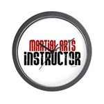 Martial Arts Instructor 2 Wall Clock
