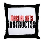 Martial Arts Instructor 2 Throw Pillow