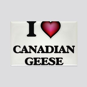 I Love Canadian Geese Magnets