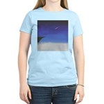 24.learnin' to fly/ bluedge..? Women's Pink T-Shir