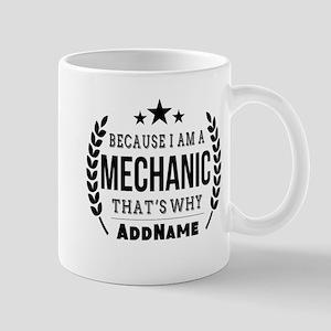Gifts for Mechanic Personalized Mug