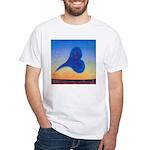 41.heartbeach..? White T-Shirt
