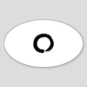 Zen circle Sticker