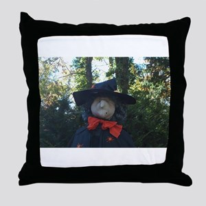 Witch 001 Throw Pillow
