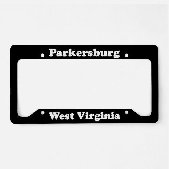 Parkersburg WV - LPF License Plate Holder