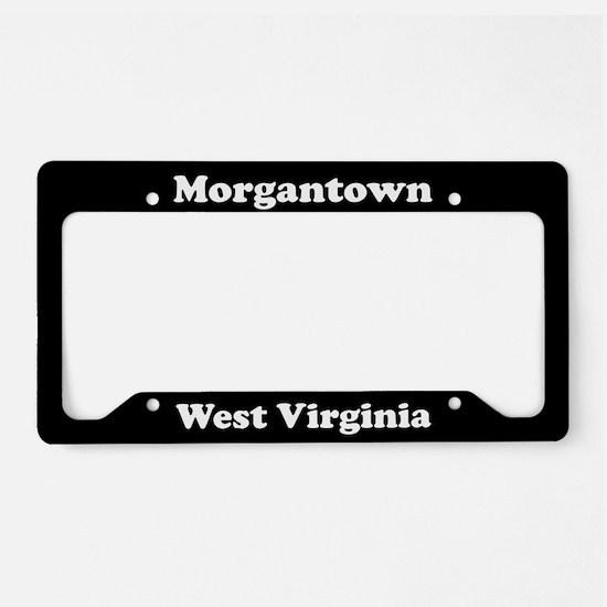Morgantown WV - LPF License Plate Holder