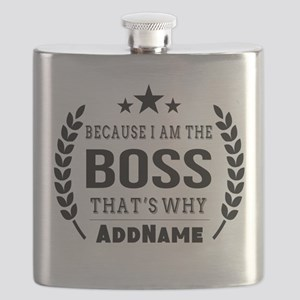 Gifts for Boss Personalized Flask