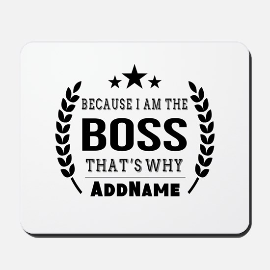 Gifts for Boss Personalized Mousepad