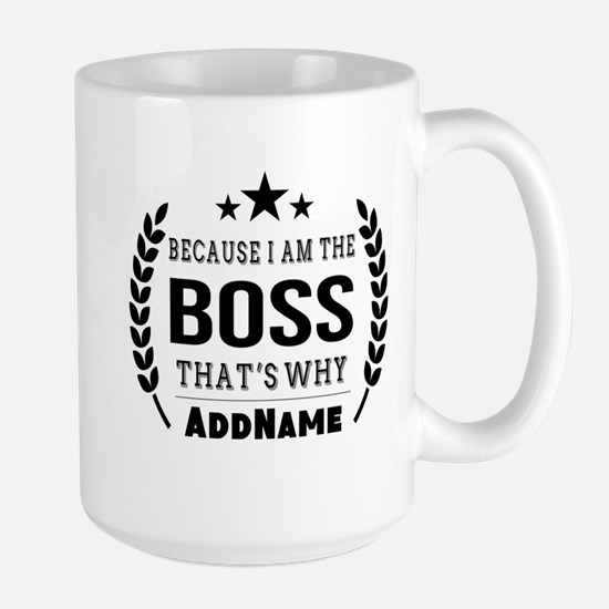 Gifts for Boss Personalized Large Mug