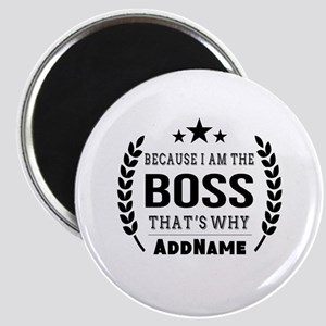 Gifts for Boss Personalized Magnet