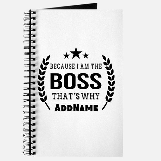 Gifts for Boss Personalized Journal