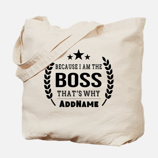 Gifts for Boss Personalized Tote Bag