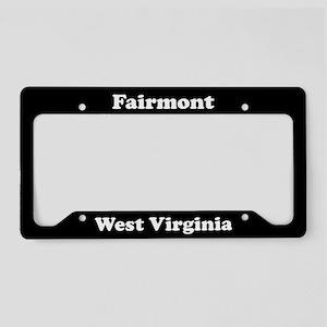 Fairmont WV - LPF License Plate Holder
