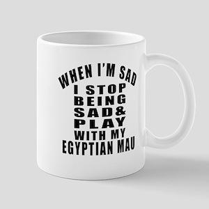 Play With Egyptian Mau Cat Mug
