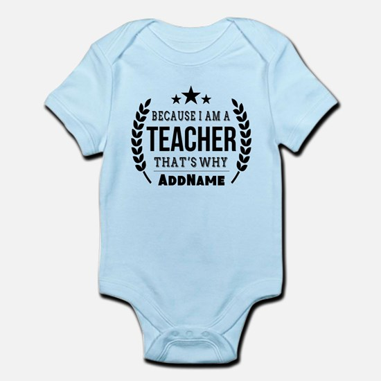 Gifts for Teachers Personalized Infant Bodysuit