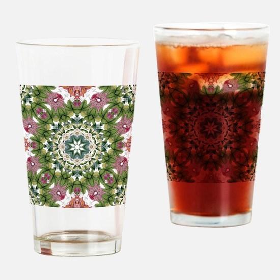 Cute Botanical Drinking Glass