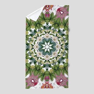 bohemian Chic boho floral Beach Towel