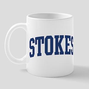 STOKES design (blue) Mug