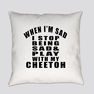 Play With Cheetoh Cat Everyday Pillow