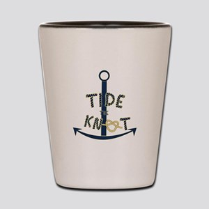 Tide the knot Shot Glass
