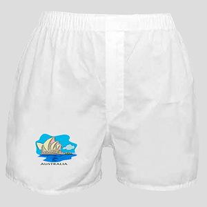 Australia Sydney Opera House Boxer Shorts