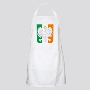 Polish Irish Coat of Arms Apron