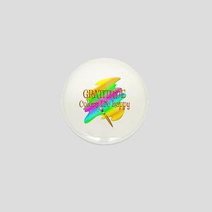 Gratitude Colors Life Happy Mini Button