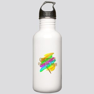 Gratitude Colors Life Stainless Water Bottle 1.0L