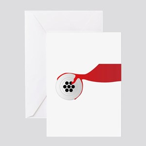 Plughole Blood Greeting Cards