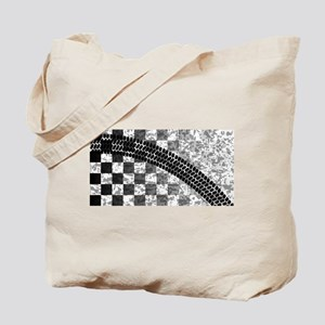 Flag Skid Mark Tote Bag