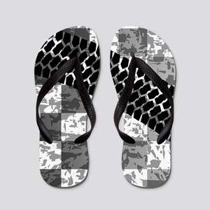 Flag Skid Mark Flip Flops