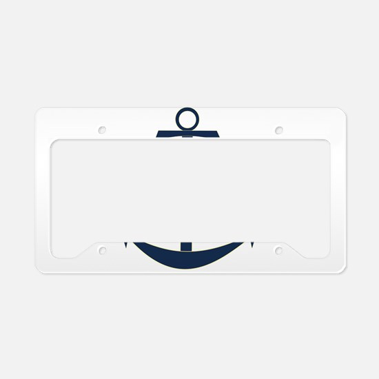 Tide The Knot Anchor License Plate Holder
