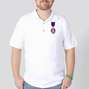 Purple Heart Medal Golf Shirt